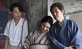 危うい三角関係を演じた綾野剛、満島ひかり、小林薫「夏の終り」