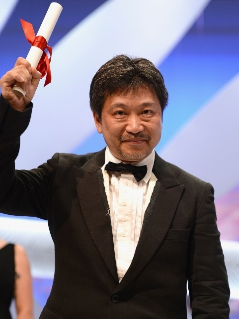 「そして父になる」で審査員賞を受賞した是枝裕和監督