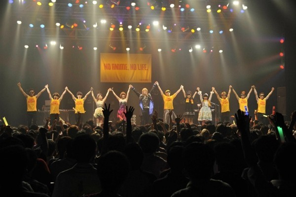 タワーレコード初のアニソンライブ、出演者と観客一体