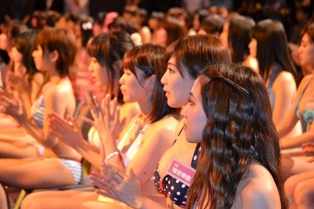 「日テレジェニック2013」候補生50人が水着で勢ぞろい 1位通過は浜田由梨 - 画像4