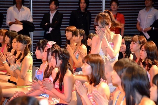 「日テレジェニック2013」候補生50人が水着で勢ぞろい 1位通過は浜田由梨 - 画像5
