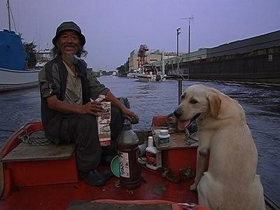 多摩川河口で犬と共に捨てられた船に住む老人を追ったドキュメンタリー 予告公開