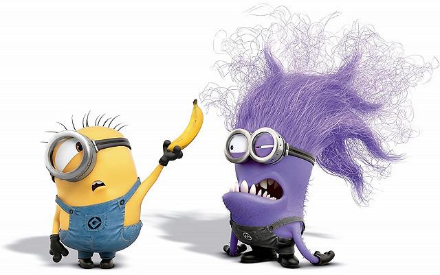 「怪盗グルー」新作に紫色で毛むくじゃらの新種ミニオン?