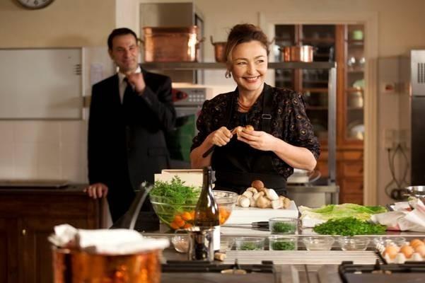 「大統領の料理人」の一場面