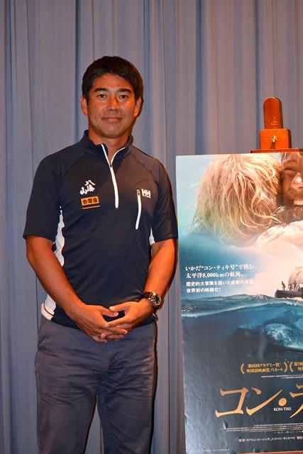 海洋冒険家・白石康次郎「コン・ティキ」通じて冒険の魅力語る