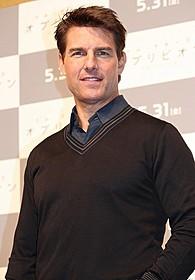 「オブリビオン」PRで日本を訪れたトム・クルーズ「ミッション:インポッシブル」