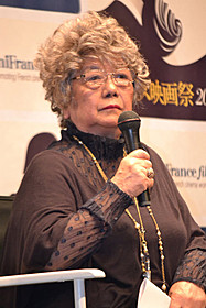 トークイベントに出席した映画評論家の秦早穂子氏「ローラ」