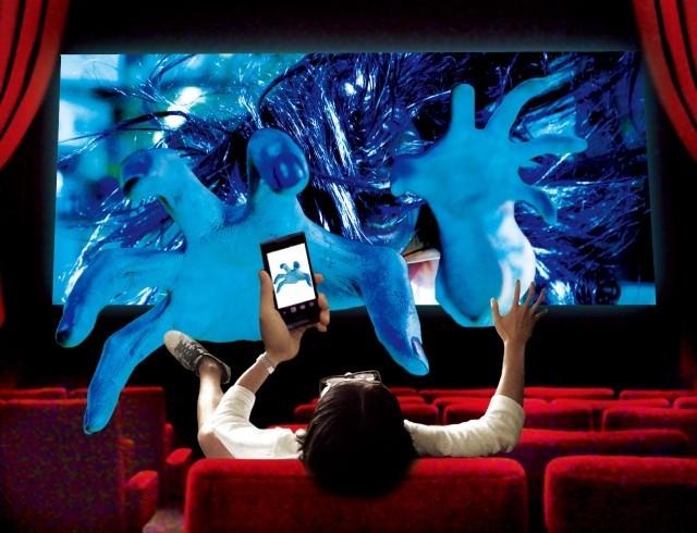 「貞子3D2」上映中はスマホの電源ONに 世界初の映画&スマホ連動上映決定