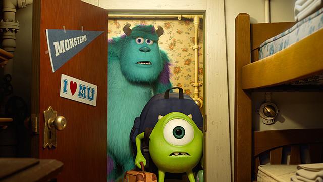 【全米映画ランキング】「モンスターズ・ユニバーシティ」V2。「ホワイトハウス・ダウン」は4位スタート
