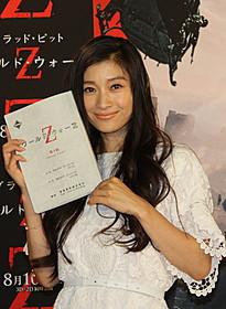 ブラピの妻役の声優を務める篠原涼子「ワールド・ウォー Z」