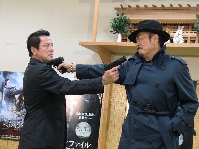 千葉真一、谷隼人と40年ぶりにそろって登場 「キイハンター」映画版の構想も明かす
