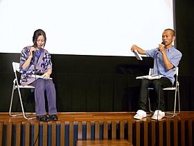 奥谷洋一郎監督と写真家・迫川尚子氏がトークセッション「ソレイユのこどもたち」
