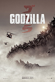 ついにビジュアルが公開された「GODZILLA」