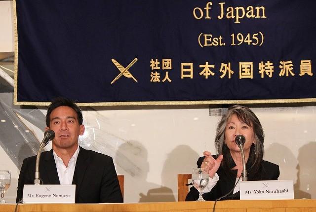 「終戦のエンペラー」日本人プロデューサー陣、外国特派員協会で会見