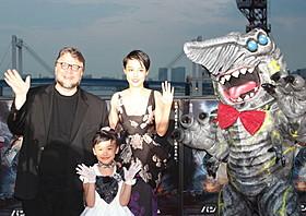 互いをほめあった菊地凛子と芦田愛菜、 ギレルモ・デル・トロ監督「パシフィック・リム」