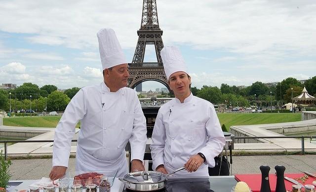 ジャン・レノが料理の特訓「シェフ!」メイキング映像独占入手