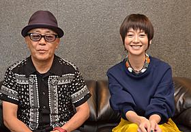インタビューに応じる真木よう子と廣木隆一監督「さよなら渓谷」