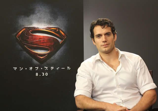 """""""新スーパーマン""""抜てきのヘンリー・カビル「マン・オブ・スティール」に自信"""