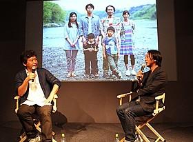 演出秘話を明かした是枝裕和と撮影監督の瀧本幹也氏「そして父になる」