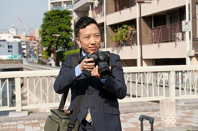 市川猿之助がドラマ初主演 人並み外れた推理力を持つドジな天才カメラマン役