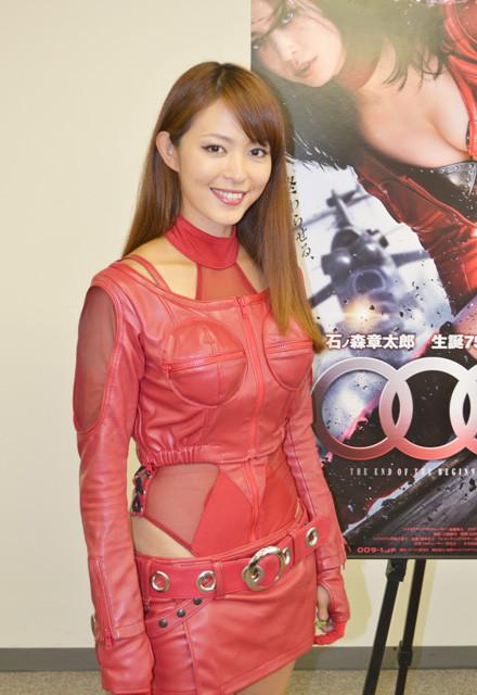 岩佐真悠子「009ノ1」サイボーグスパイ役でセクシーアクションヒロイン宣言!