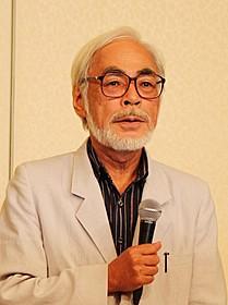 引退について語る宮崎駿監督