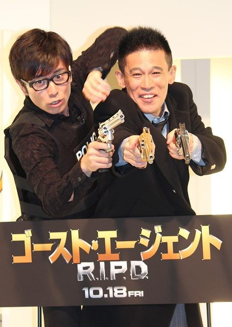 柳沢慎吾&藤森慎吾、映画のPRそっちのけでコントざんまい