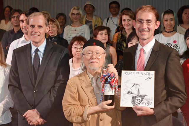 「ハーロック」の松本零士、仏大使館からの画業60周年記念ワインに大感激!