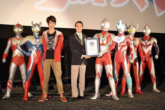 ウルトラマン、ギネス世界記録に認定!「最も派生シリーズが作られたTV番組」として