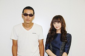 思いを語ったSABU監督と小松彩夏「Miss ZOMBIE」