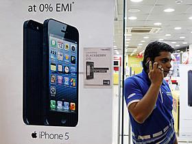 インドでシェア拡大中のiPhone