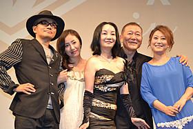 「第6回したまちコメディ映画祭in台東」のオープニング 上映で舞台挨拶に立った國村隼、友近、神楽坂恵ら「地獄でなぜ悪い」