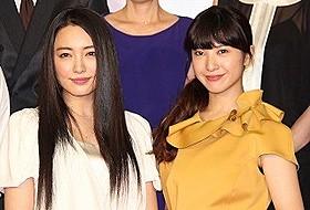 朝ドラで共演する吉高由里子と仲間由紀恵「赤毛のアン」