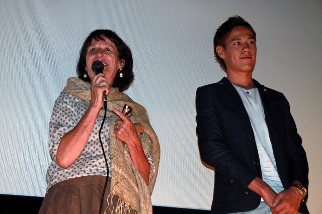 京都古民家で暮らす英国人を映したドキュメンタリーが大ヒット ベニシアさん親子が舞台挨拶