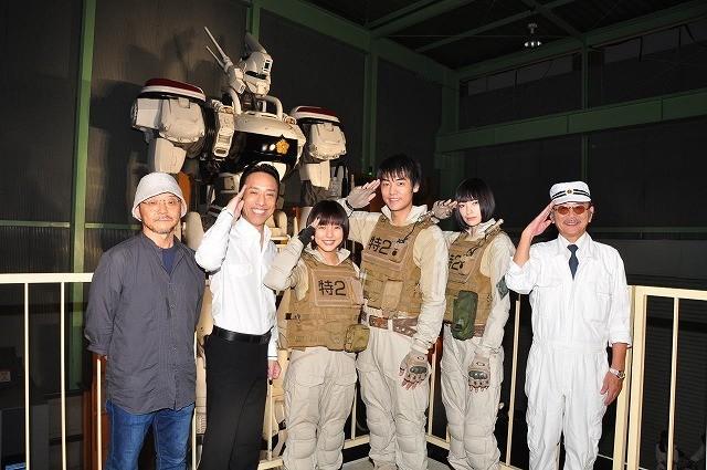 主演は真野恵里菜!15年長編公開の実写版「パトレイバー」総製作費は20億円