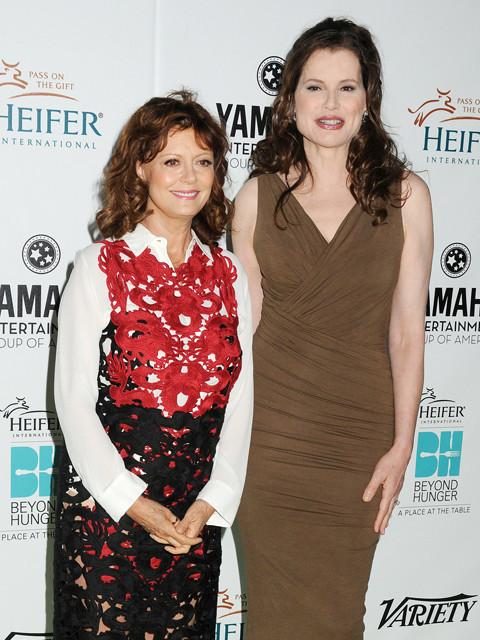 「テルマ&ルイーズ」ふたりの主演女優、22年ぶりのツーショット