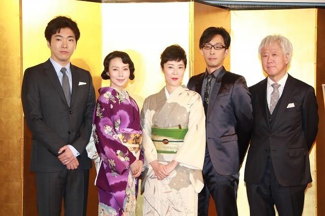 三島由紀夫戯曲が映像化 「般若の心で演じた」中谷美紀に柄本佑は「怖かった…」