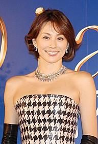 完成披露試写会に出席した米倉涼子「ダイアナ」