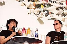 タランティーノ&ポン・ジュノ、釜山で夢の対談!「スノーピアサー」