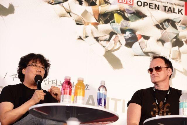 クエンティン・タランティーノ&ポン・ジュノ、釜山映画祭で緊急対談!