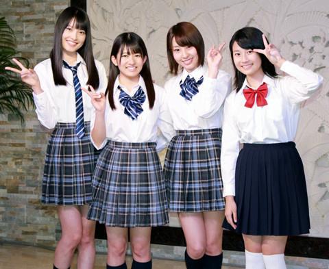 "「AKB48」の""干物女""藤江れいなと竹内美宥がホラー映画「眠り姫」をアピール"