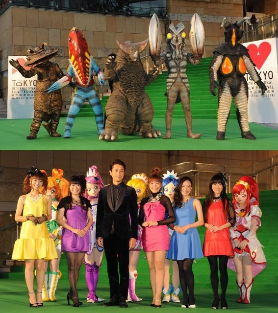 プリキュアが、カネゴンが!第26回東京国際映画祭で大暴れ!?