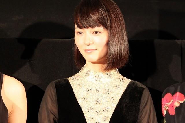 松岡恵望子「FORMA」公式上映に感無量の面持ち