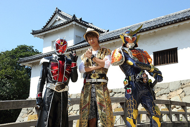 「仮面ライダー鎧武&ウィザード」にJOY&敦士がゲスト出演 平成ライダーOBも参戦