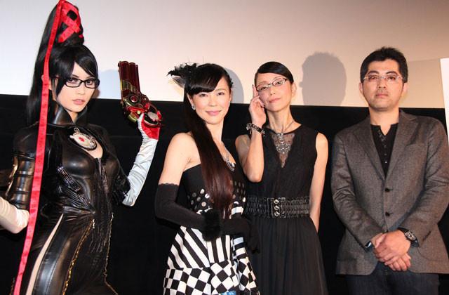 世界的人気ゲームのアニメ化「ベヨネッタ」出演の田中敦子「昇天する気持ち」