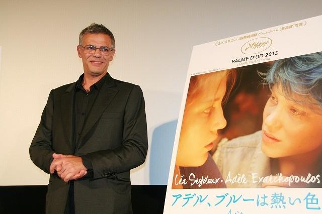 カンヌパルムドール受賞のA・ケシシュ監督が初来日 小津安二郎への愛語る