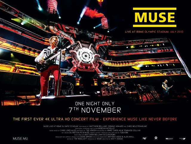 MUSEのソールドアウト公演、11月5日に世界同時プレミア決定