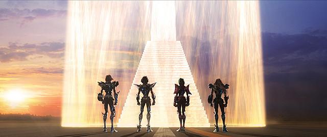 「聖闘士星矢」新作映画、2014年初夏公開!車田正美の製作総指揮で十二宮編描く
