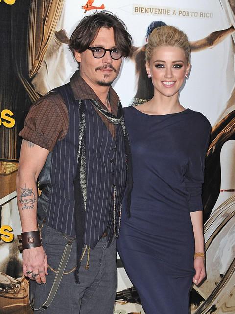 ジョニー・デップ、恋人アンバー・ハードの新作にカメオ出演