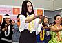 永作博美、約1年ぶりのフラダンス挑戦で「開放感たまらない」と破顔